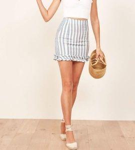 NWOT Reformation Alexa Skirt XS
